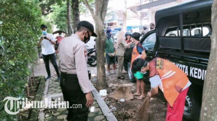 Operasi Yustisi di Kediri Kembali Digelar Secara Massif, Petugas Masih Temukan Pelanggaran Prokes