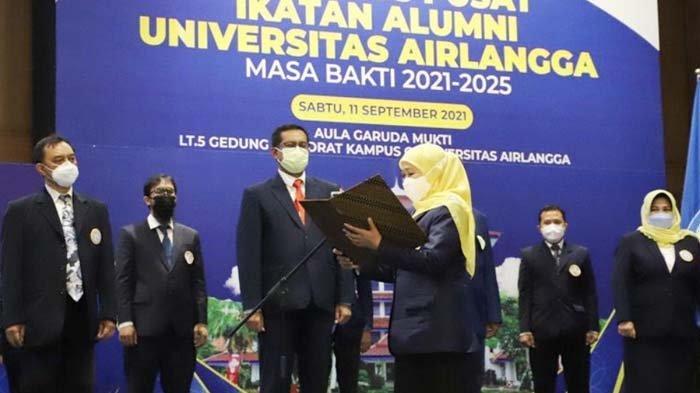 Tantangan IKA Unair Surabaya di Dunia Kerja, Khofifah Tekankan Pentingnya Strong Partnership Alumni