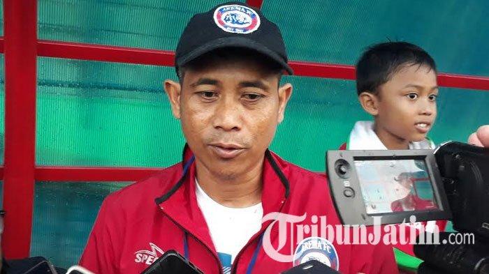 Joko Susilo Tegaskan Partai Arema FC Melawan Persib Bandung Hanya Sebuah Laga Uji Coba