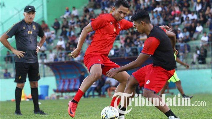 TERPOPULER BOLA: Prediksi Susunan Pemain Arema FC Liga 1 2020 hingga Timnas U-19 Mulai Percaya Diri