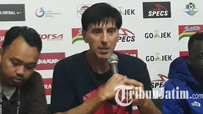 Milan Petrovic Sebut Pemain Arema FC Sudah Bermain Sesuai Strategi saat Lawan Persija Jakarta
