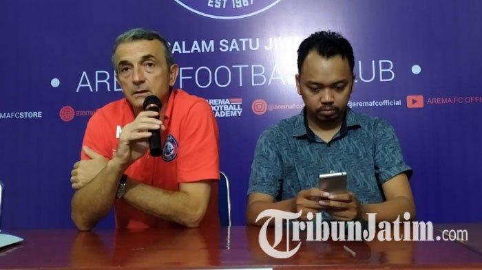 Kalah dari Bhayangkara FC 1-0, Pelatih dan Pemain Arema FC Kompak Beri Alasan Belum Beruntung