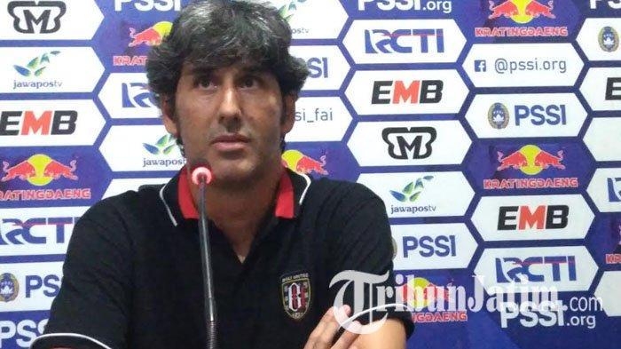 Permintaan Khusus Stefano Cugurra Teco pada Manajemen Jelang Laga Bali United di Level Asia