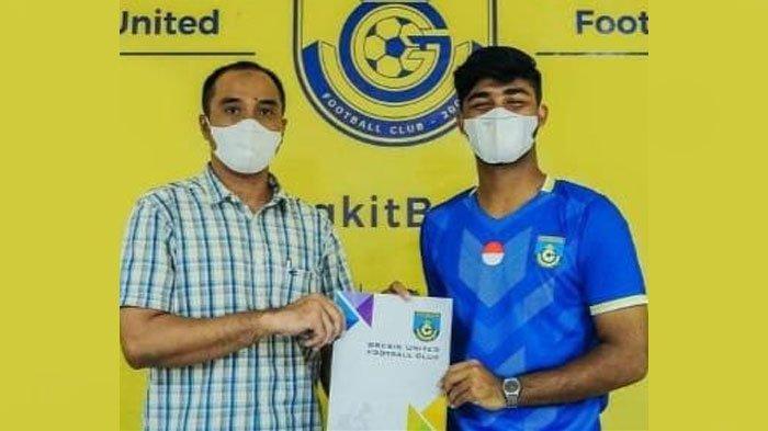 Mantan Pemain Persib Bandung U-19 Perkuat Gresik United di Liga 3