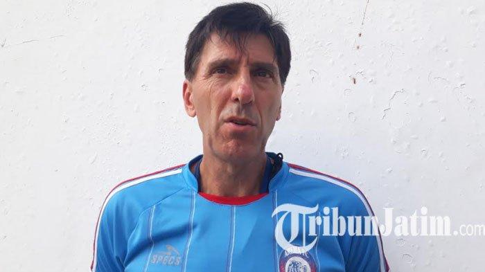 Manfaatkan Jeda Kompetisi, Milan Petrovic Agendakan Tiga Uji Coba untuk Arema FC