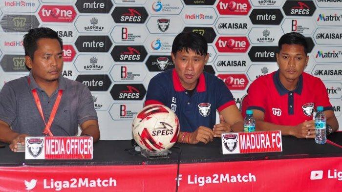 Madura FC Vs PSIM Yogyakarta, Siap Bangkit, Laskar Jokotole Waspadai Agresivitas Cristian Gonzales