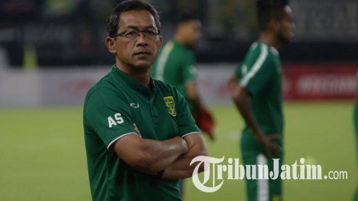 Kasus Positif Covid-19 Masih Tinggi, Pelatih Persebaya Sarankan Kompetisi Dilanjutkan Oktober