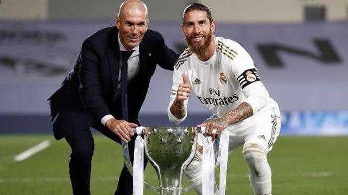 Jelang Leg Kedua Chelsea Vs Real Madrid, Zidane Bawa Kabar Gembira Tentang Dua Pilarnya
