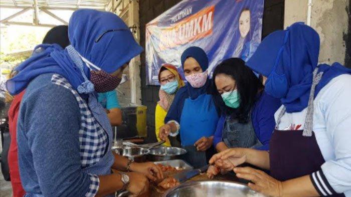 Respon Dampak Pandemi Covid-19 di Sektor Ekonomi, Demokrat Surabaya Launching Bina UMKM