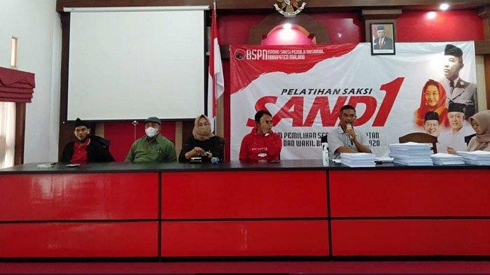 Jelang Pemungutan Suara Pilkada Malang 2020, PDI Perjuangan Berikan Pelatihan Ribuan Saksi