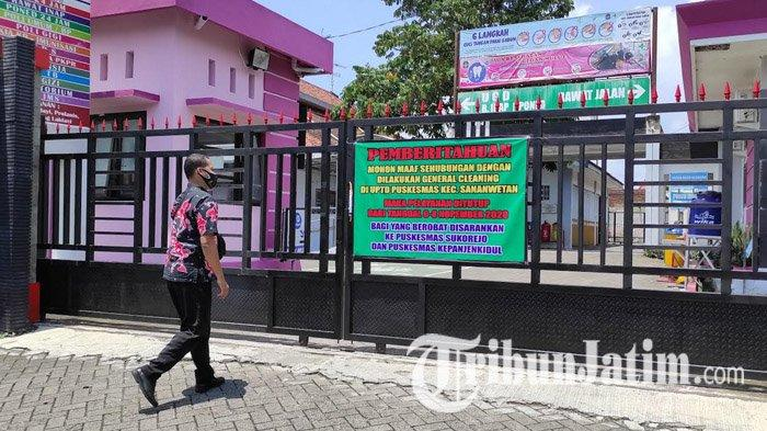 Dua Tenaga Kesehatan Reaktif Covid-19, Pelayanan Puskesmas Sananwetan Kota Blitar Ditutup Sementara