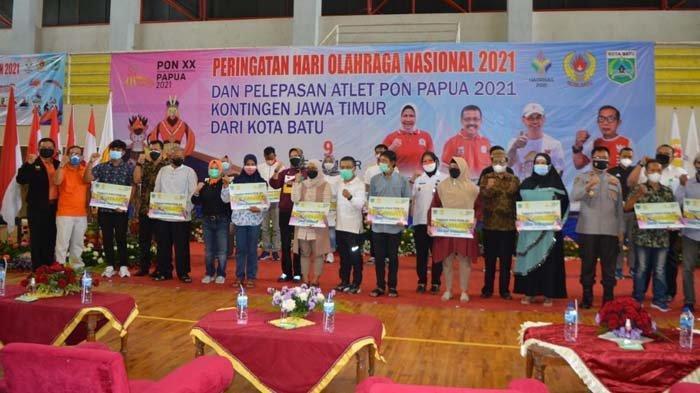 Wali Kota Dewanti Rumpoko Dukung Atlet Kota Batu Bawa Pulang Medali Emas dari PON XX Papua 2021
