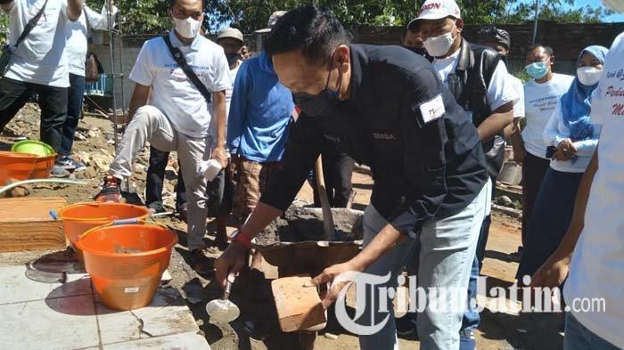 Apersi Galang Donasi Bedah Rumah Korban Gempa Malang, Target Pembangunan Selesai Sebelum Lebaran