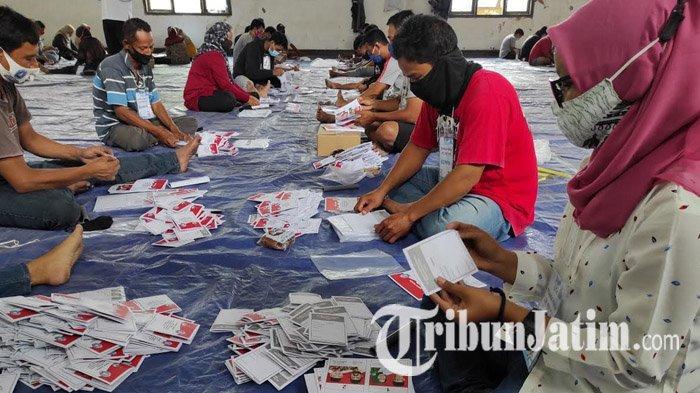 781 Ribu Lembar Surat Suara Pilkada Ponorogo 2020 Tiba, Pelipatan Ditargetkan Rampung Tiga Hari