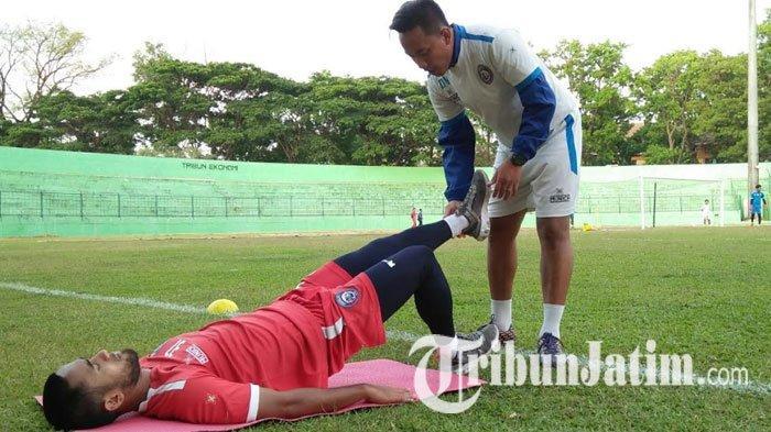 PSM Vs Arema FC, Dua Pemain Singo Edan Absen, Johan Farizi dan Arthur Cunha Sudah Boleh Bermain