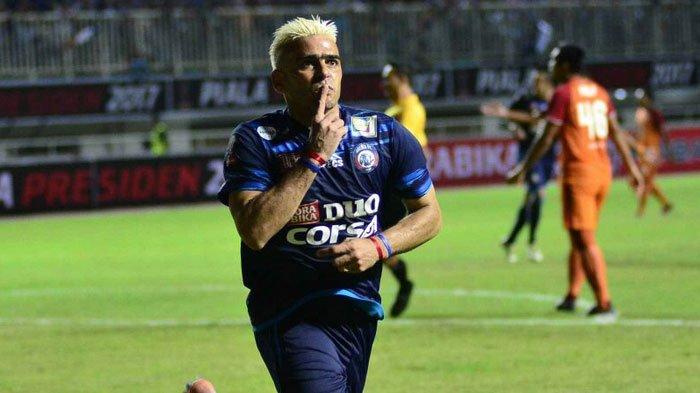 Pemain Arema FC, Cristian Gonzales