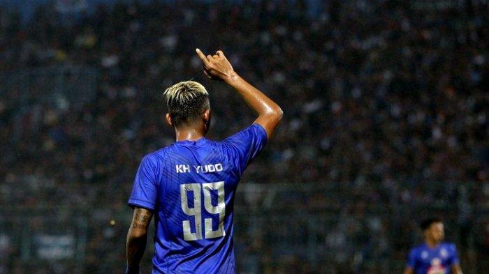 Masih Mandul, Striker Arema FC Beri Penjelasan: 'Belum Rezeki'