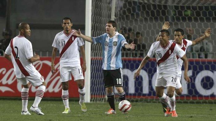 Argentina Vs Peru - Laga Terkutuk bagi Lionel Messi