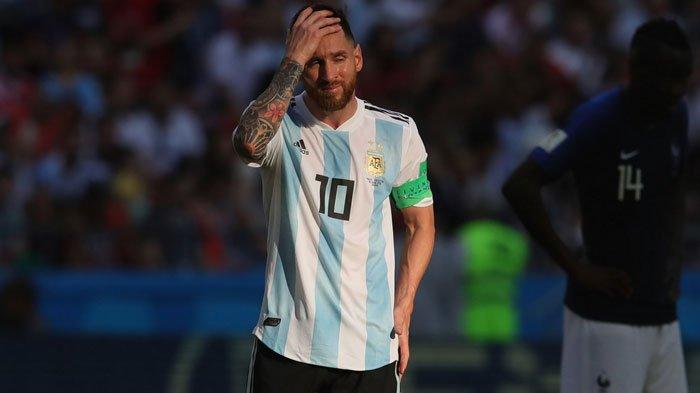 Fase Gugur Jadi Momok, Inilah Statistik Mengenaskan Lionel Messi di 19 Pertandingan Piala Dunia