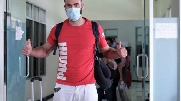 Tiba di Malang, Sergio Silva Akan Jalani Serangkaian Tes Kesehatan