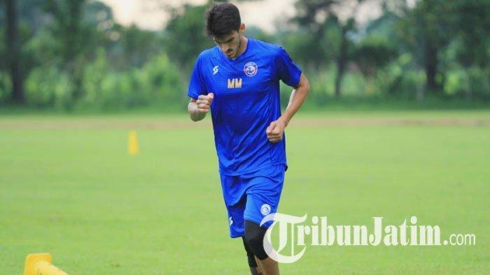 Kaget Dirinya Ramai Diberitakan, Matias Malvino Beri Jawaban Soal Renegosiasi Kontrak di Arema FC