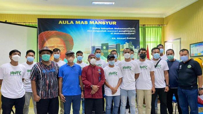 Skuad HWFC Jalani Vaksinasi di RS Aisyiyah Siti Fatimah