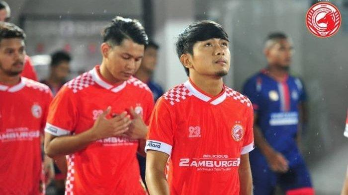 Pemain Indonesia yang memperkuat Kelantan FC, Natanael Siringoringo.