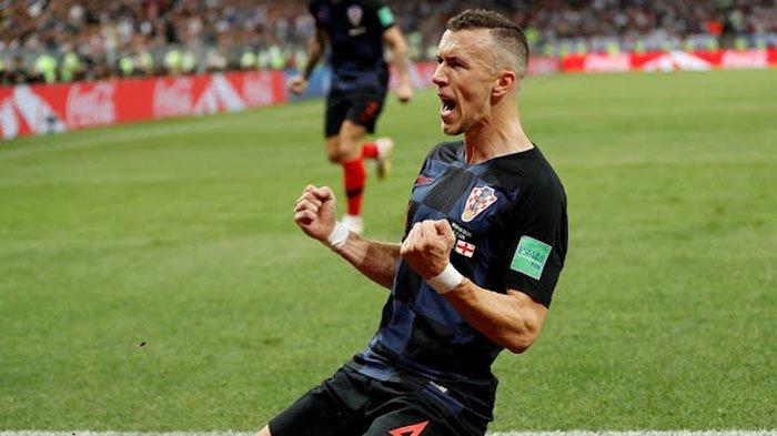 Pemain Kroasia Ivan Perisic Berhasil Cetak Gol ke Gawang Inggris, Bikin Kedudukan Imbang 1-1