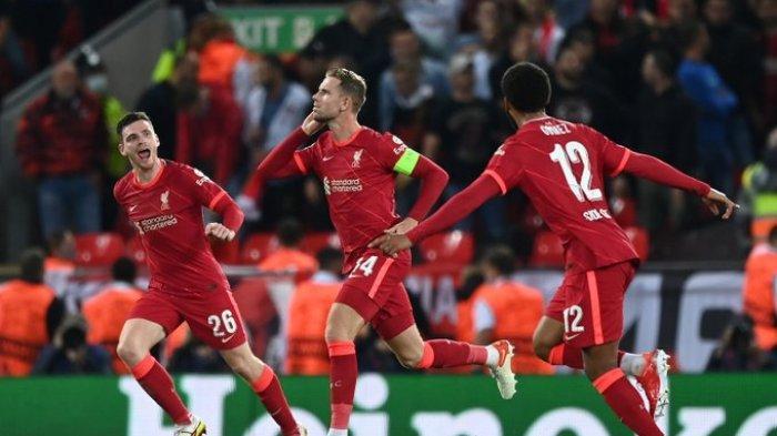 Hasil Liverpool Vs AC Milan - Diwarnai Drama 5 Gol, Rossoneri Kena Comeback The Reds