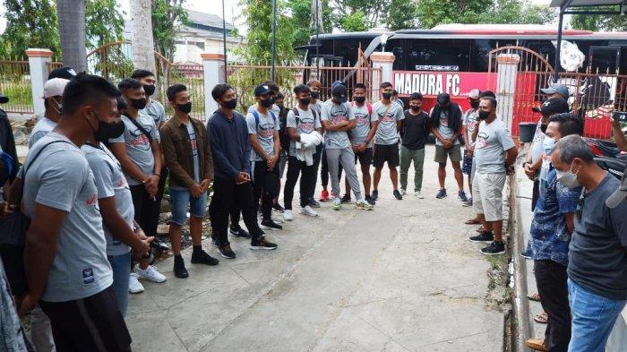 Matangkan Persiapan Tim, Madura FC Gelar Tour ke Luar Pulau Madura Jelang Bergulirnya Liga 3 2021