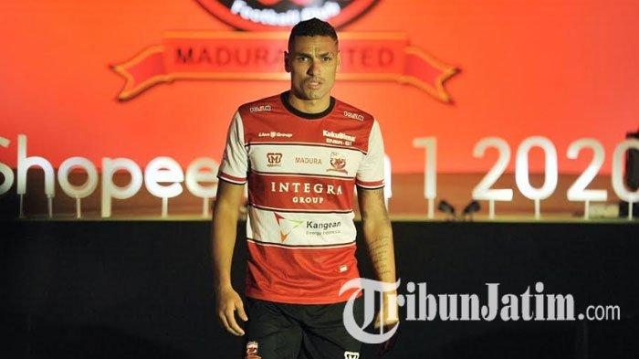 Jaimerson Xavier Senang Madura United Gaet Bruno Matos, Sebut Buat Laskar Sape Kerrab Tambah Kuat