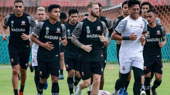 Madura United Targetkan Minimal 8 Kali Uji Coba Guna Matangkan Persiapan Menatap Liga 1 2021