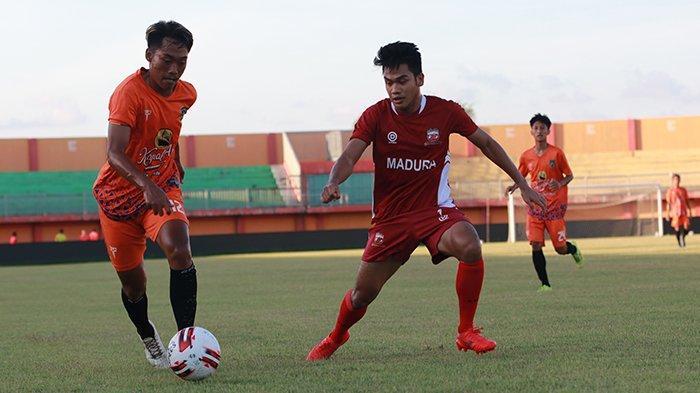 Latih Tanding dengan Malang United, RD Senang Skuad Madura United Banyak Lakukan Kombinasi Permainan
