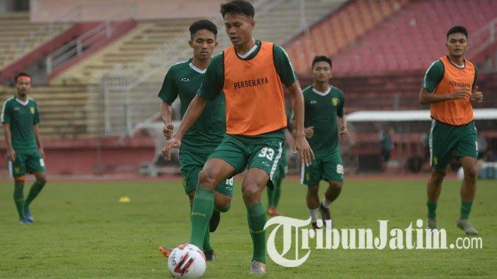 Meski Kompetisi Liga 1 Belum Jelas, Bek Muda Persebaya Ini Tetap Semangat Latihan