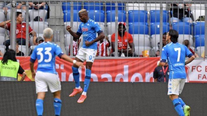 Hasil Pramusim - Bayern Muenchen Dipermalukan Napoli 0-3 di Allianz Arena