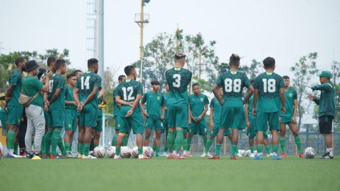 Jelang Lakoni Seri Kedua Liga 1 2021, Persebaya Mulai Fokus Matangkan Pertahanan Secara Kolektif