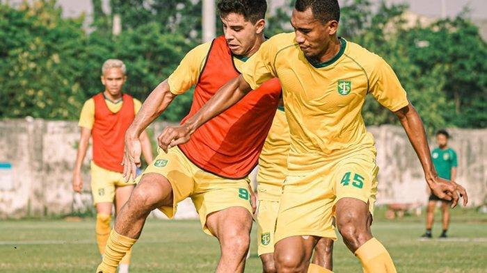 Alami Cedera, Dua Pemain Persebaya Masih Menepi dari Latihan Tim