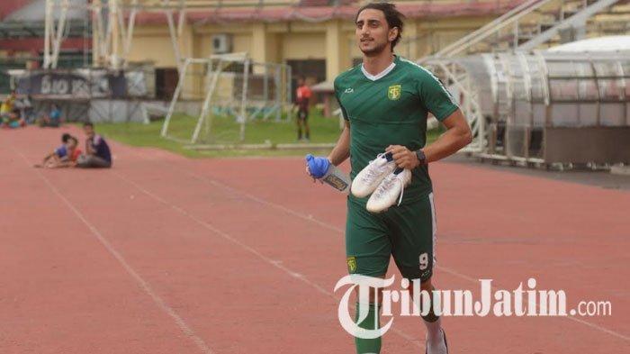 Pemain Persebaya Mahmoud Eid Bakal Tambah Porsi Latihan Jelang Bergulirnya Kembali Liga 1 2020