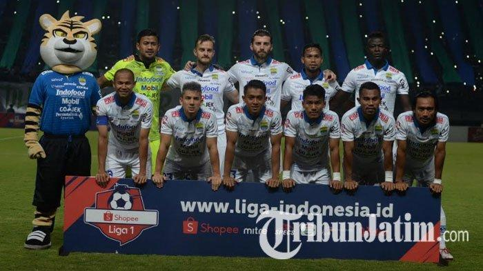 Persija Vs Persib Bandung, Lupakan Hasil Buruk di Surabaya, Maung Bandung Bertekad Bangkit