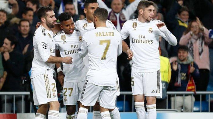 Hasil Lengkap Liga Champions, Real Madrid Pesta Gol Setengah Lusin, PSG Menang Tipis 1-0