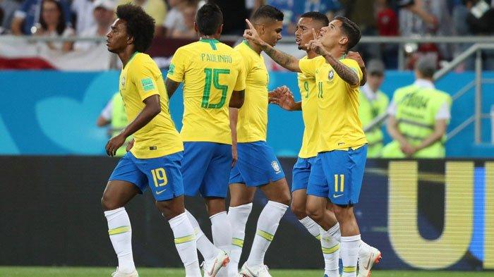 Inilah Susunan Pemain Brasil Vs Meksiko, Pelatih Ubah Komposisi Sesuai Kebutuhan