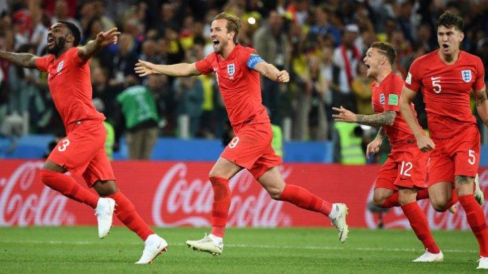 Sembilan Hal Menarik dari Timnas Inggris Jelang Laga Semifinal Lawan Kroasia di Moskow
