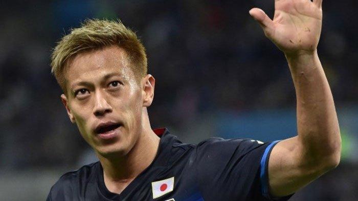 Usai Kalah dari Belgia di Piala Dunia 2018, Keisuke Honda Nyatakan Pensiun dari Timnas Jepang