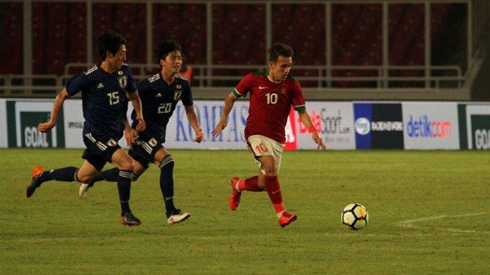 4 Link Live Streaming Timnas U-19 Indonesia VS Jepang, Minggu (28/10/2018), Kick Off Pukul 19.30 WIB