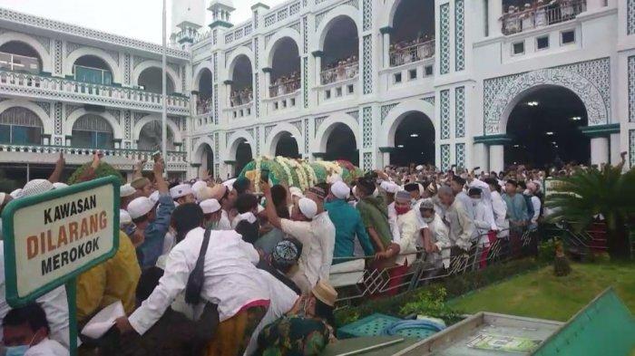 Kata Satgas Covid-19 Kota Pasuruan Pasca Kerumunan di Pemakaman Habib Hasan