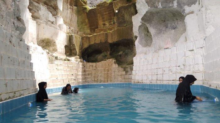 Kolam Renang Khusus Hijabers di Gresik, Dibuat di Bekas Lokasi Galian Batu Kapur