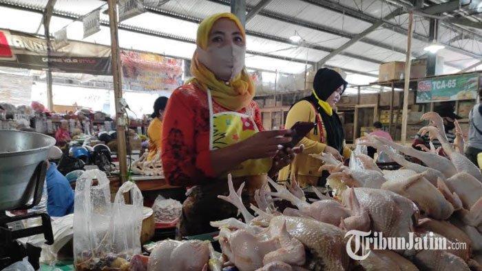 Jelang Ramadan, Harga Daging Ayam Broiler di Ponorogo Naik, Cabai Rawit Merangkak Turun