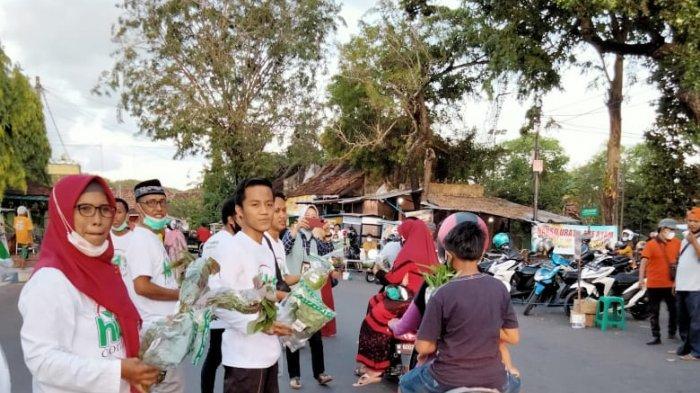 Komunitas Hidroponik Sumenep Bagikan Sayur di Bulan Ramadan 1442 H