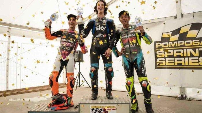 Hampir Finis di Urutan 3 MotoGP Austria 2021, Valentino Rossi Akhirnya Kembali Naik Podium