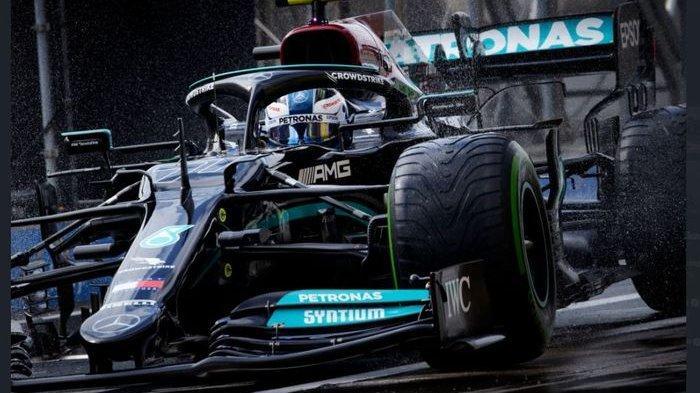 Hasil F1 GP Turki 2021 - Bottas Menang, Hamilton Finis di Posisi Ini